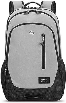 Solo New York Region Laptop Backpack, Grey