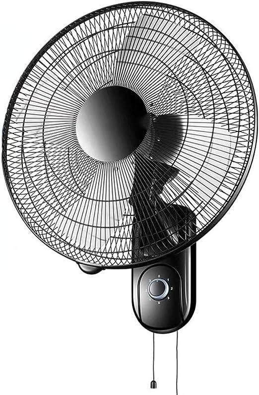 Wall-mounted fan ALY® Ventilador De Pared Oscilante, Silencioso ...