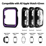 Compatible with Apple Watch Case 44mm 42mm 40mm