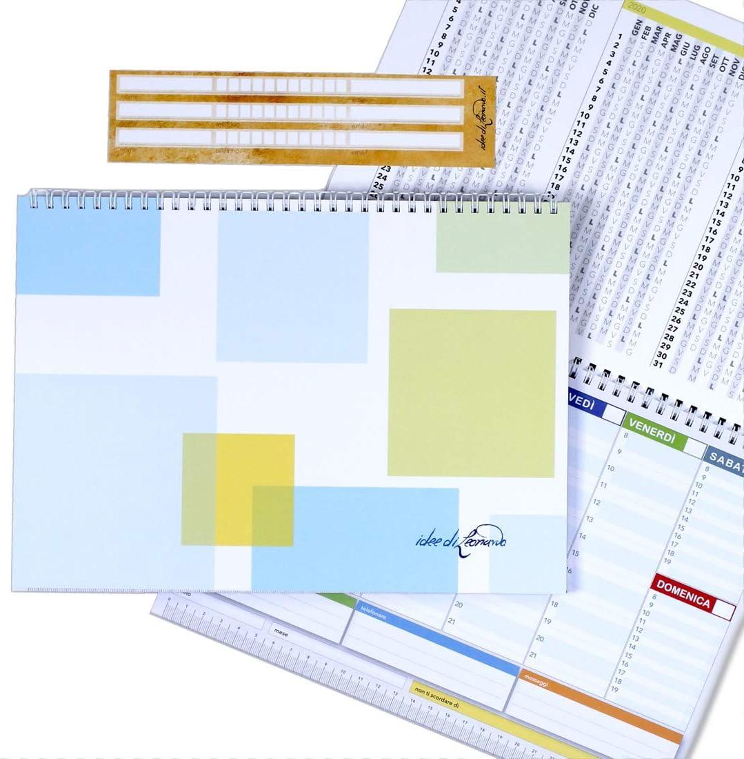 Campus Shine Square – Planner Semanal 30 X 21 – Agenda Planner de ...