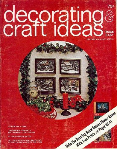 Decorating & Craft Ideas December-January 1972 (Made ()
