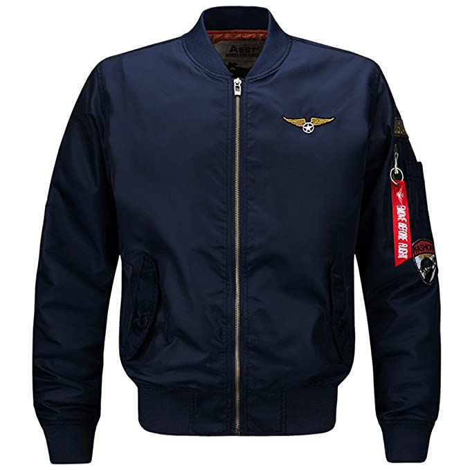 Amazon.com: Bomber Army Military Air Force Coats Oversize ...