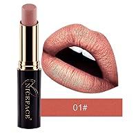 Tefamore Nouveau Lip Matte Liquide Rouge à lèvres imperméable Maquillage à lèvres Brillant 24 Teintes