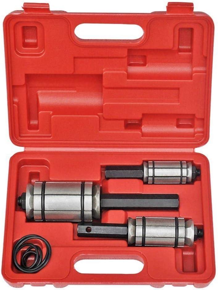 Auspuffrohr Rohraufweiter KFZ Erweiterung TailPipe Expander Rohrspreizer Set /ø 30-85 mm inkl 3 tlg Koffer