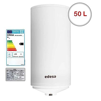 Edesa Tre de 50 L Supra Memoria 50 litros de agua caliente eléctrico Memoria calentador de