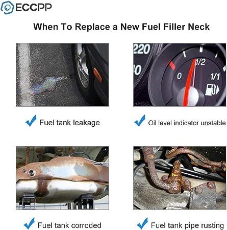 LSAILON Fuel Tank Pipe Gas Tank Tube Fuel Filler Neck Fit for 2001-2005 Chevrolet Blazer 2001 GMC Jimmy 2001 Oldsmobile Bravada 15191596 FN738