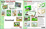ScrapSMART - Zoo Family Cards & Envelopes: Software Collection - Microsoft Word, Jpeg, PDF files for Mac [Download]