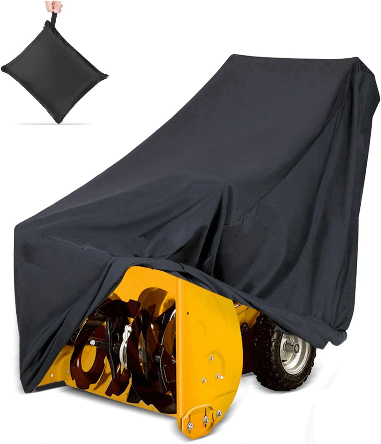 Heavy Duty Snow Thrower Snowblower Storage Protective Cover Anti-UV Waterproof