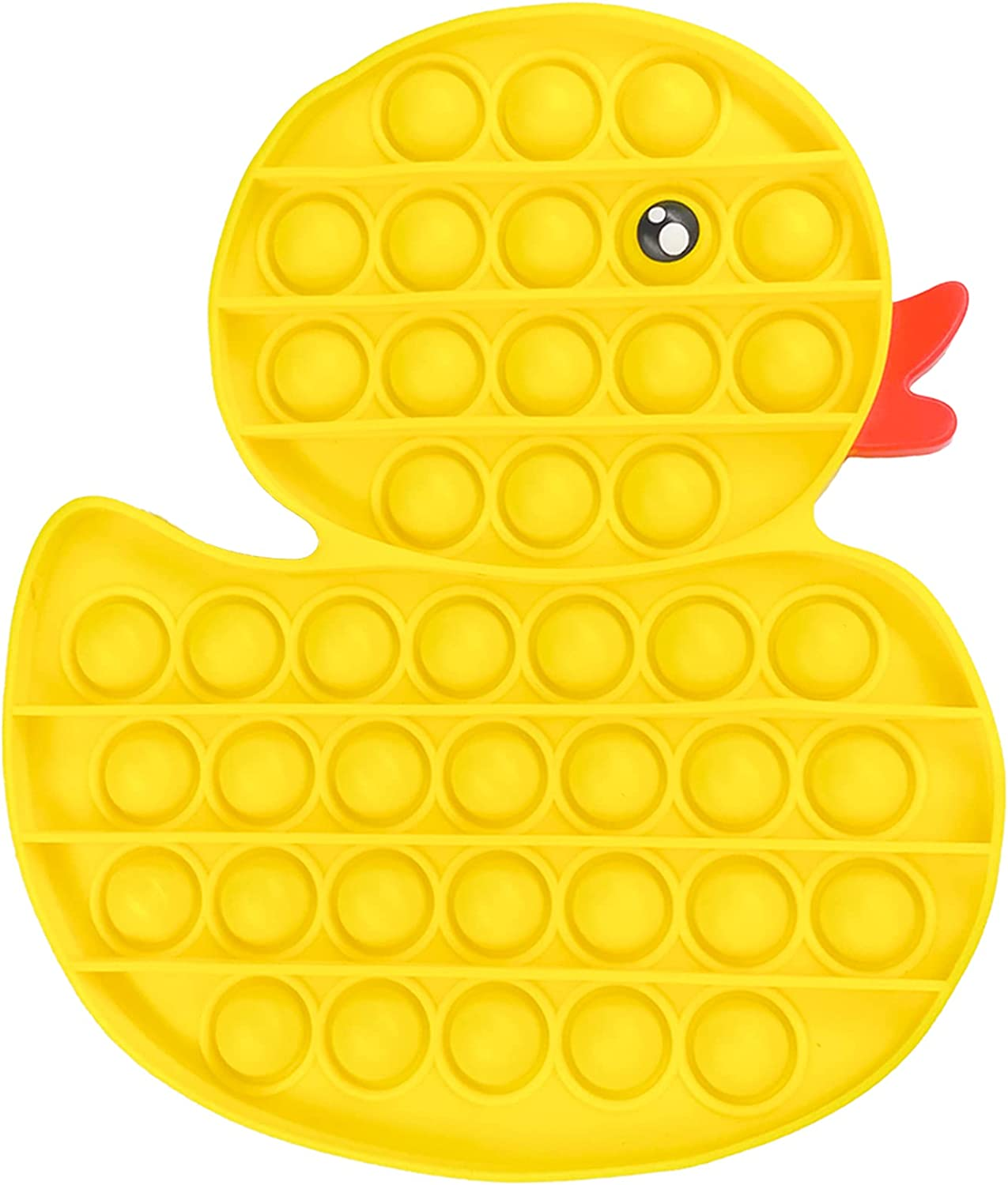Push Bubble Fidget Sensory Toys, Fidget Toys, Silicone Toy for Kids and Adults Need to Relieve Stress (Duck)