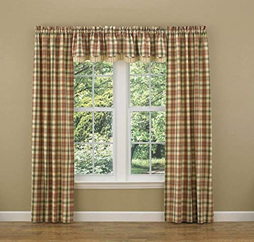 Lemon Pepper Layered Valance