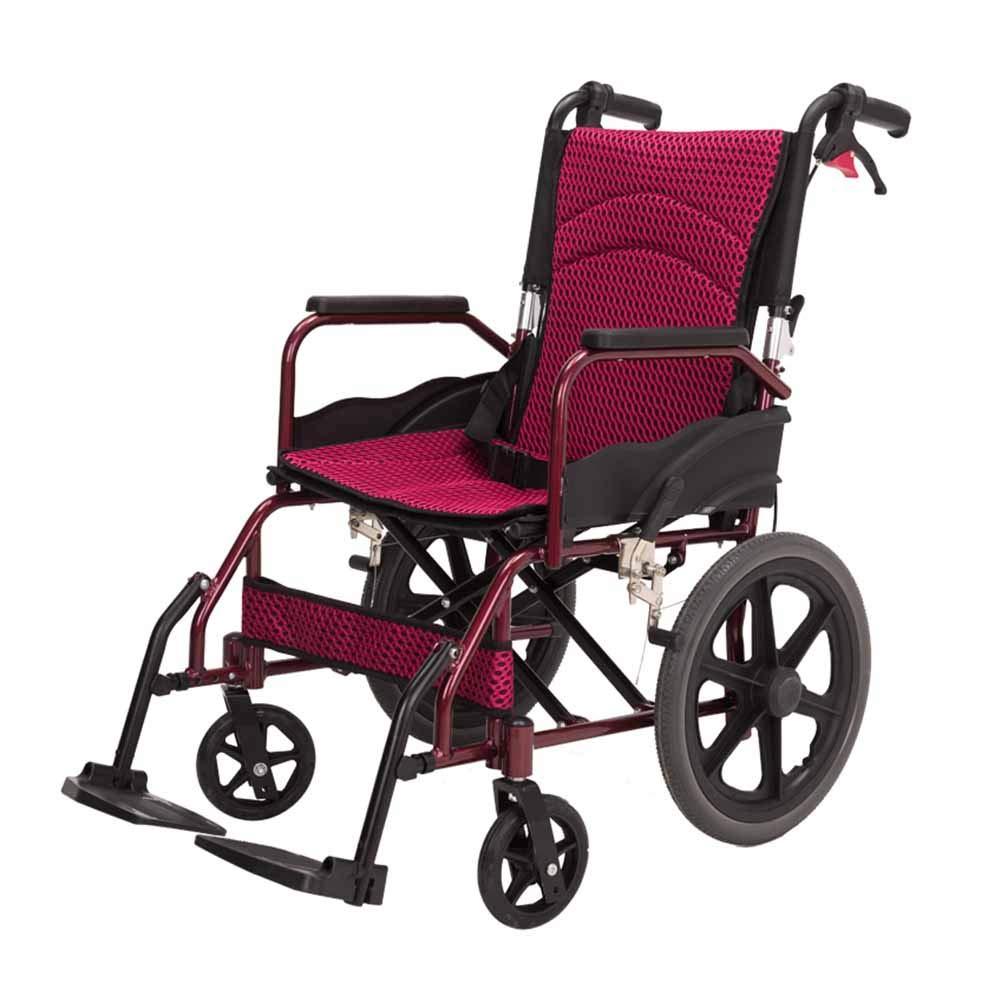 QIDI 車椅子 マニュアル 軽量 高齢者 トロリー アルミニウム合金   B07KCZDGGD
