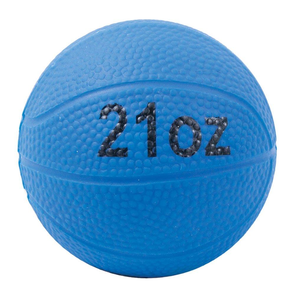 Power Systems Power Throw-Ball, Baseball Size Weighted Medicine Ball, 21 Ounce, Blue (26021)