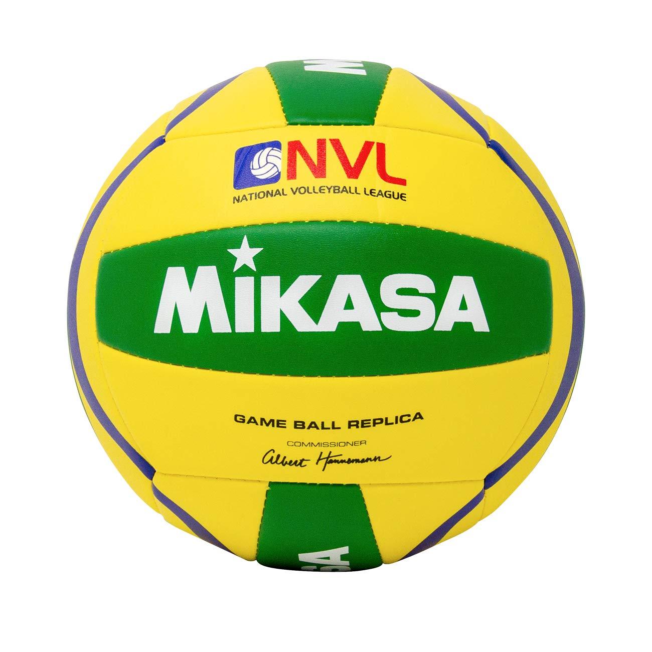 Mikasa D119 NVL Game Ball Replica Outdoor Volleyball: Amazon.es ...