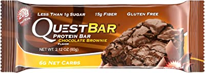 Quest Nutrition Protein Bar, Chocolate Brownie