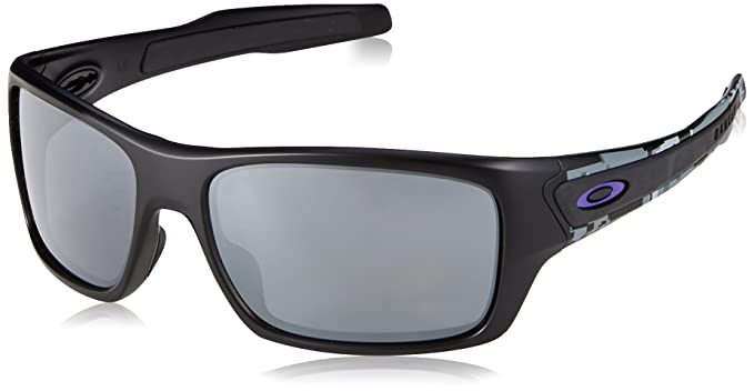 6039e7fd82 Oakley Men s Turbine Non-Polarized Iridium Rectangular Sunglasses ...