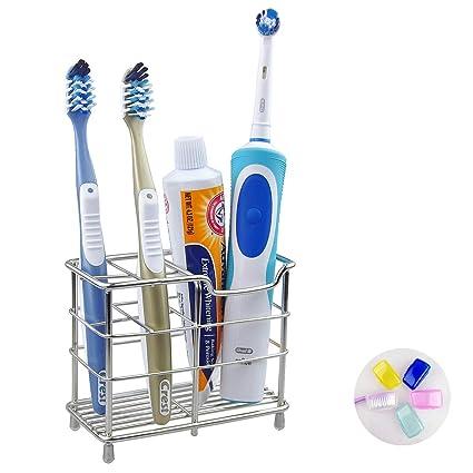 Acero inoxidable soporte para cepillos de dientes de viaje Kids best DIY pasta de dientes titular