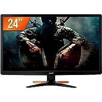 "Monitor Gamer Acer GN246HL 24"" Full HD 144Hz 1ms DVI VGA HDMI"