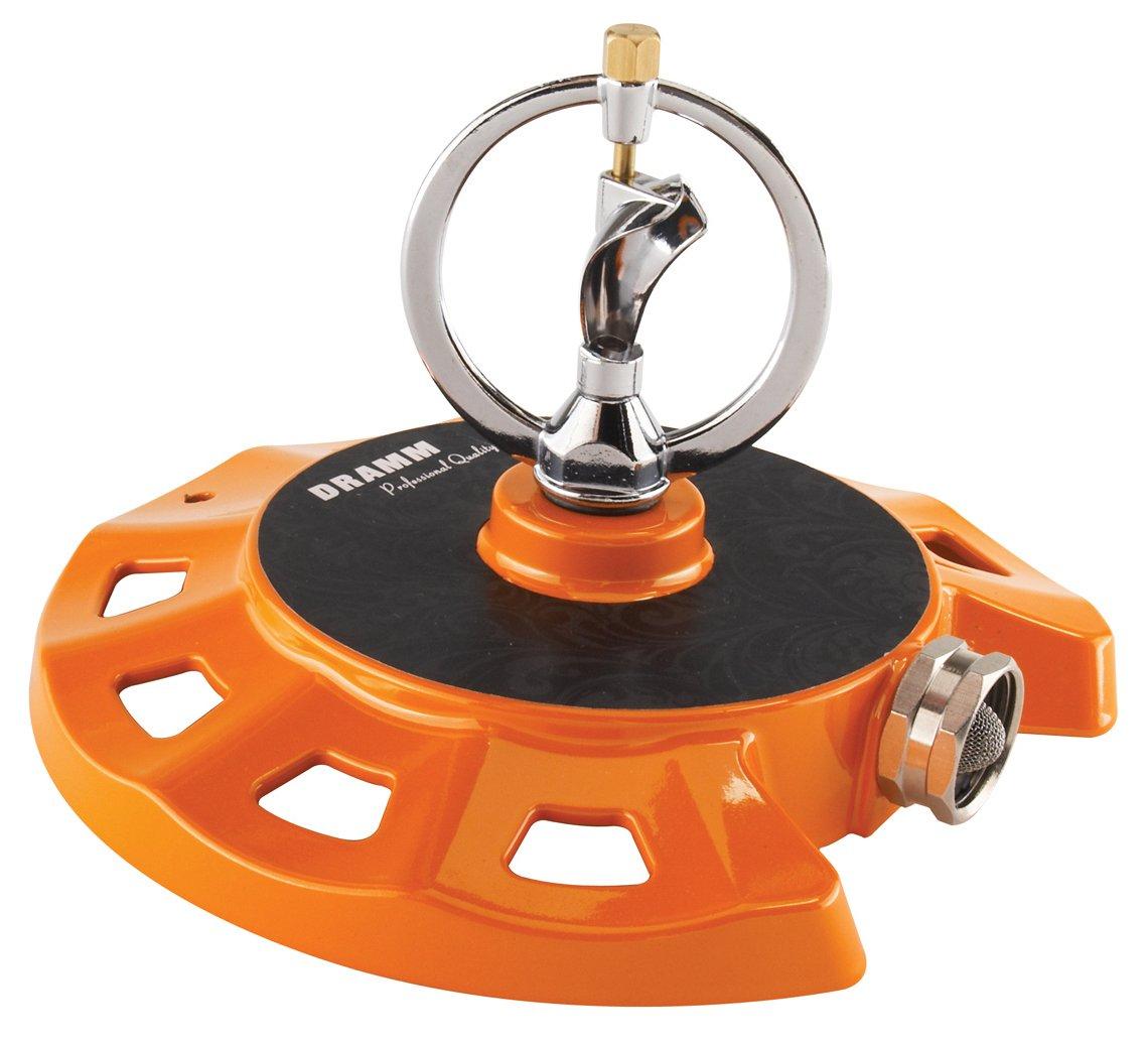Dramm 15072 ColorStorm Spinning Sprinkler, Orange