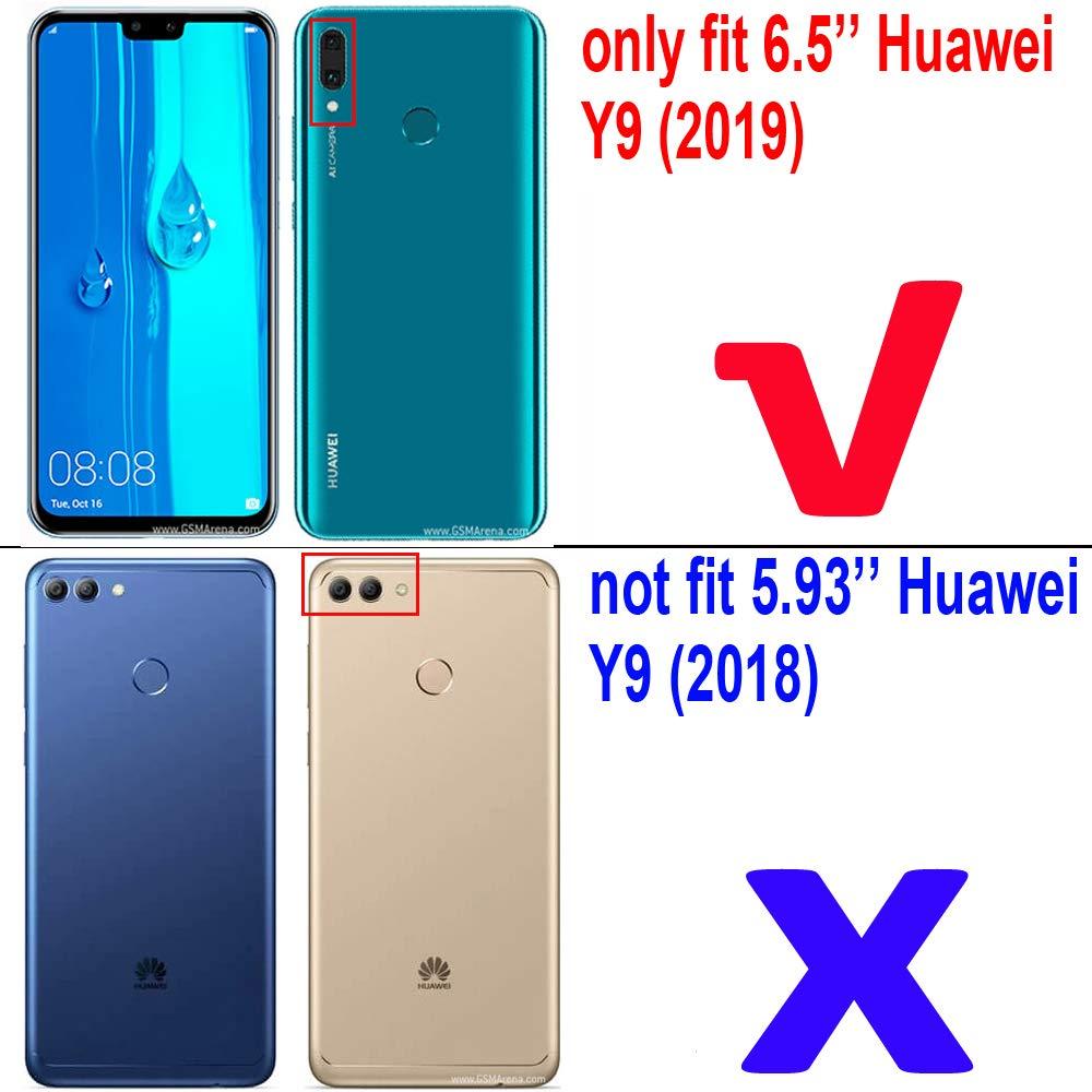 Amazon com: Huawei Y9 (2019) Case, Huawei Y9 (2019) Stand