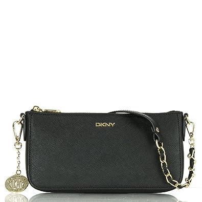 04c907d059 DKNY Black Saffiano Leather Small Women s Crossbody Bag Black ...