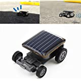 FnieYxiu Toy Cars, Mini Solar Powered Robot Racing Car Vehicle Educational Gadget Kids Gift Toy