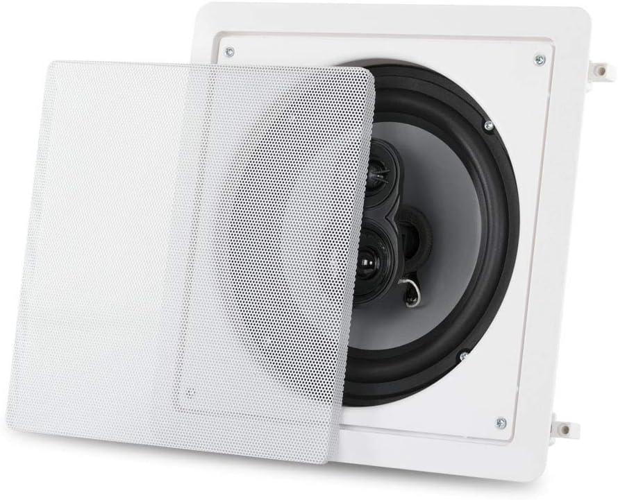 Acoustic Audio CS-I83S-2PR 300 Watt 8 3-Way Home Theater in-Wall//Ceiling Speakers 2-Pair