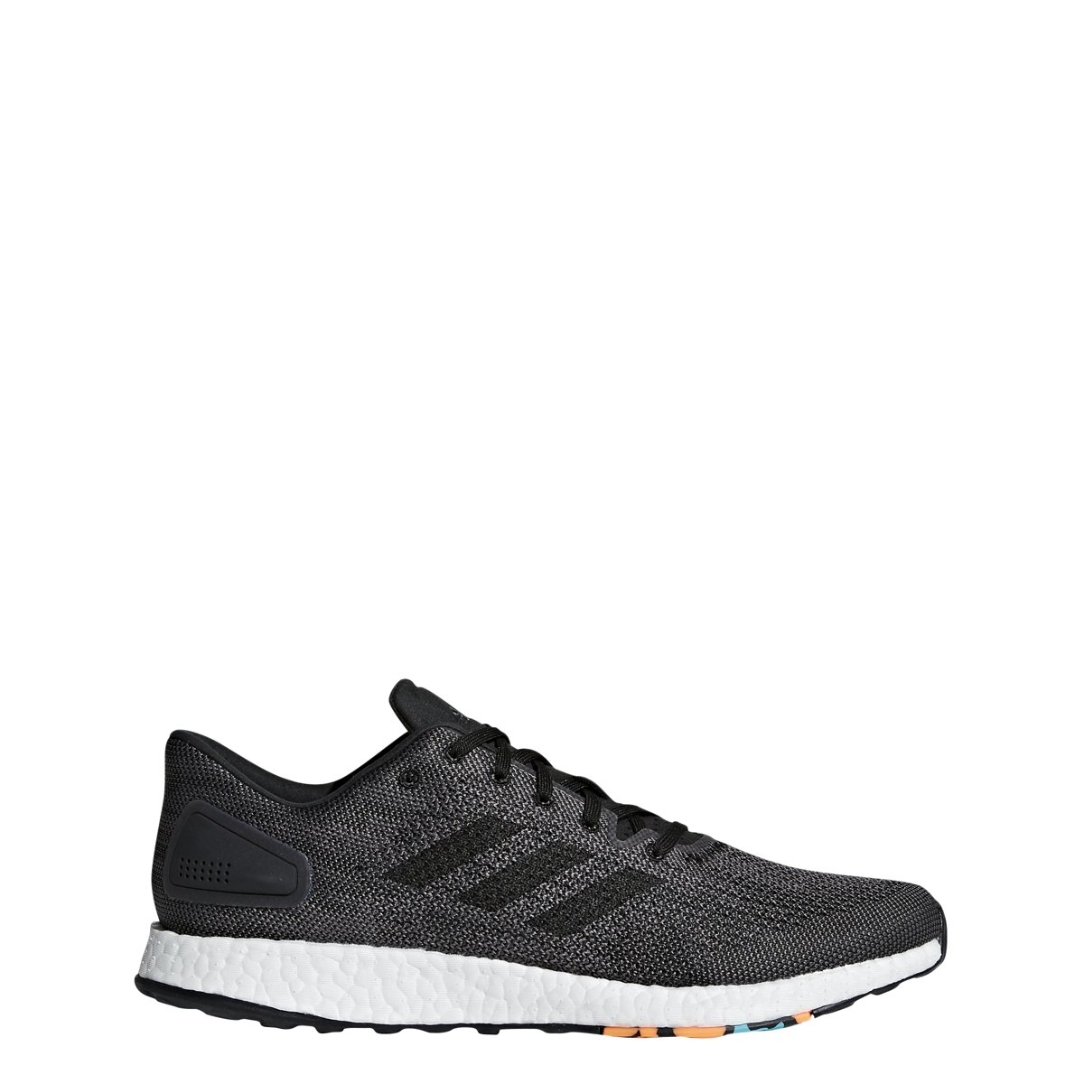 adidas Men's Pureboost DPR Running Shoe B077XK58XN 4.5 D(M) US|Black/Black/Grey