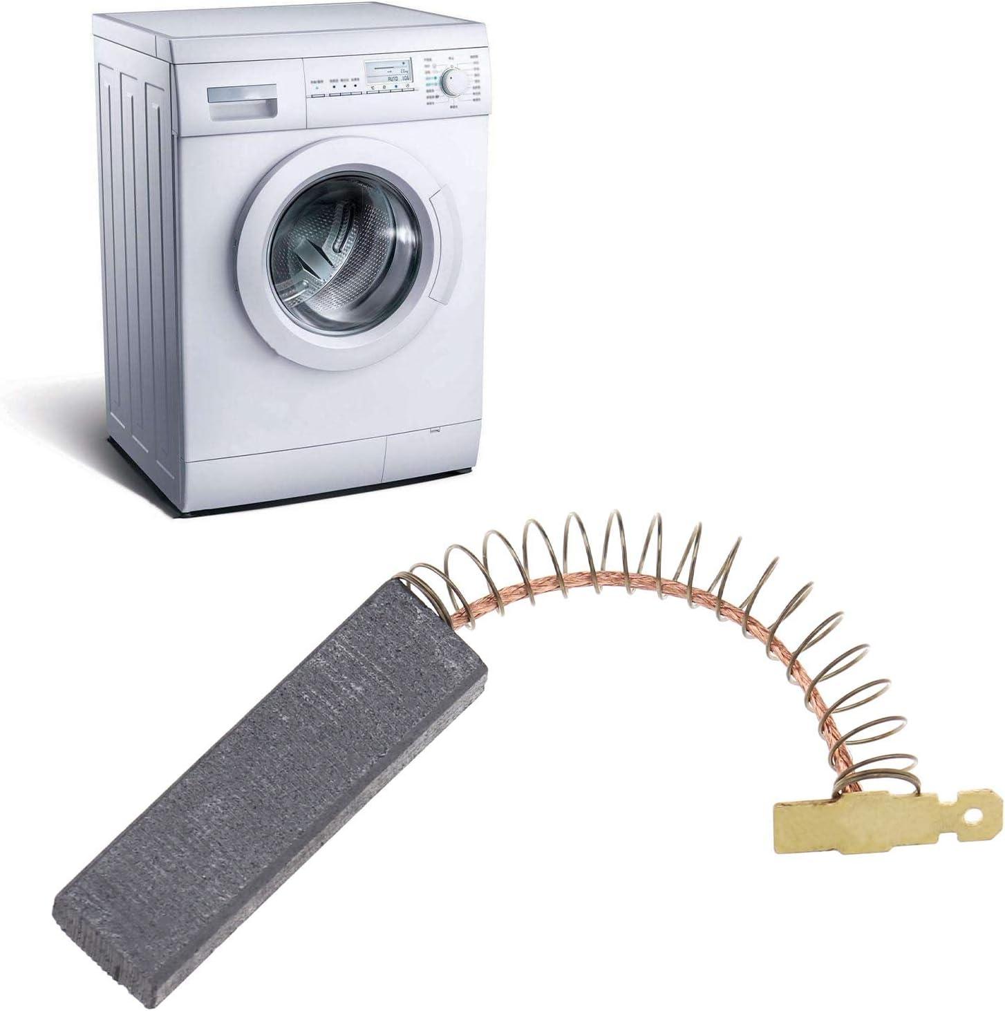2pcs Industrial Washing Machine Vacuum Motor Replacement Carbon Brush