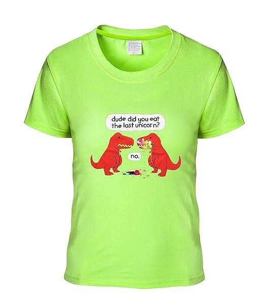 Eagle U2 temperamento de las mujeres camiseta T, diseño de unicornio
