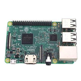 Hongfei Raspberry Pi 3 Microordenador with 64bit Modelo B WiFi BT4 ...