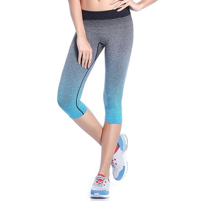 Amazon.com: Despacho.Mujer Deportes Pantalones de Yoga ...