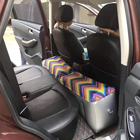 Amazon.com: HUVE - Colchón hinchable para coche, asiento ...
