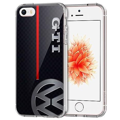 iPhone SE Funda,iPhone 5S Funda,iPhone 5 Funda, [JFGGLFDO000027] Transparente Claro Suave TPU Gel Case Para iPhone SE/5S/5 [Transparent], Funda XIN TM