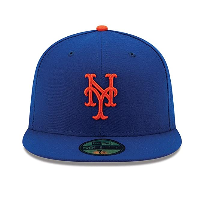 3fcaf2d812a Amazon.com  New Era 59FIFTY New York Mets MLB 2017 Authentic Collection  On-Field Game Fitted Hat  Clothing