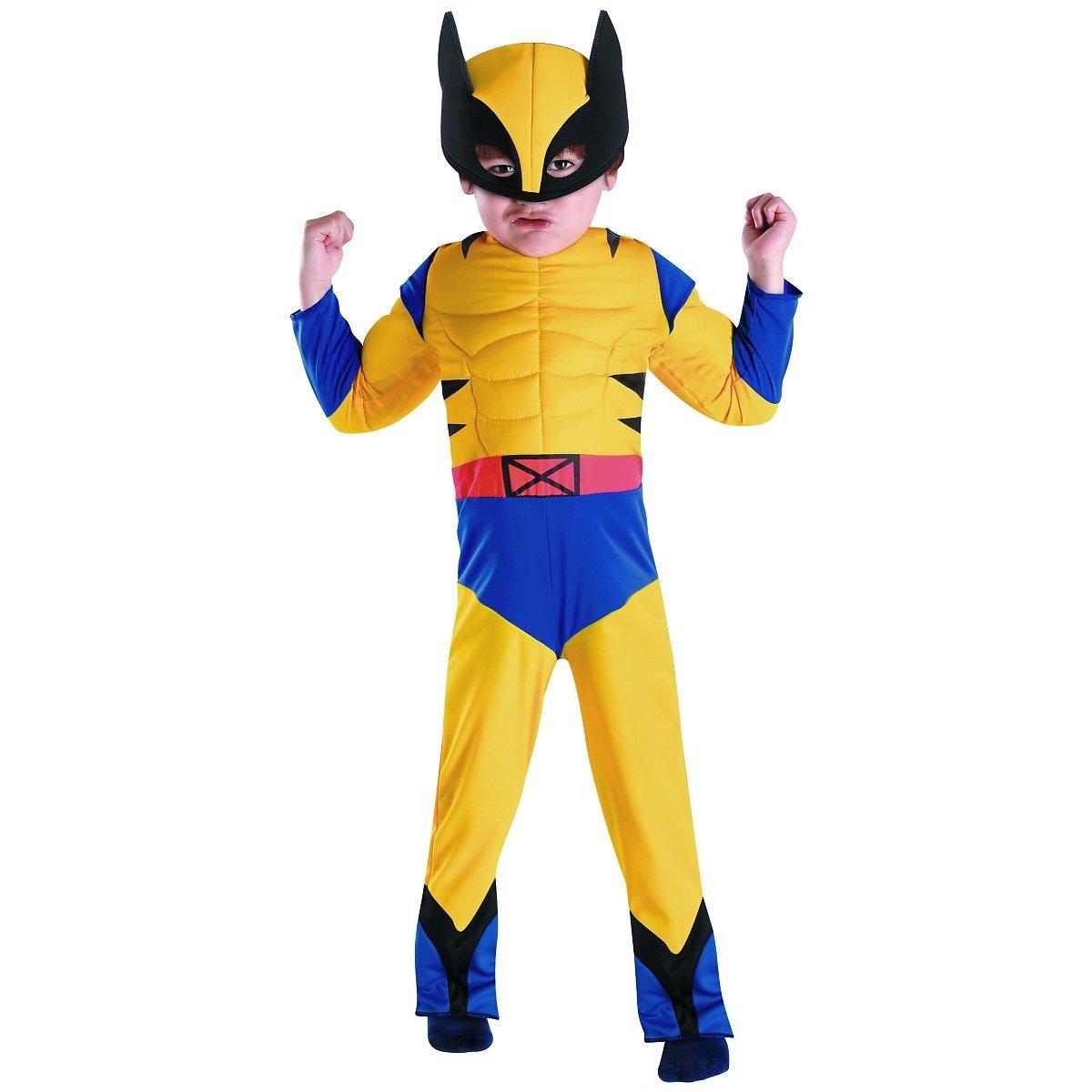 sc 1 st  Amazon.com & Amazon.com: Wolverine Muscle Toddler Costume - Toddler Medium: Clothing