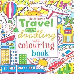 pocket doodling and colouring travel usborne drawing doodling and colouring james maclaine 9781409544777 amazoncom books - Usborne Coloring Books