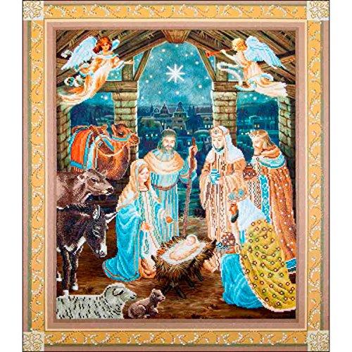 Needleart World Nativity Scene Diamond Embroidery Kit -  DD15.002
