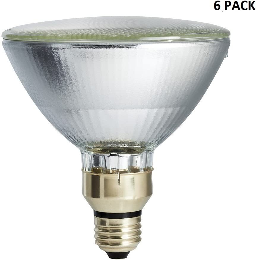 Philips 429373 Halogen PAR38 90 W Dimmable Flood Standard Base Light Bulb,2 Pk