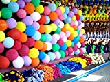 MESHA-12-Inches-Assorted-Color-Party-Balloons-144-Pcs-USA-SELLER