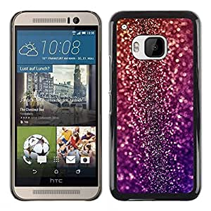 PC/Aluminum Funda Carcasa protectora para HTC One M9 Bling Glitter Disco Design Party Shiny Dress / JUSTGO PHONE PROTECTOR