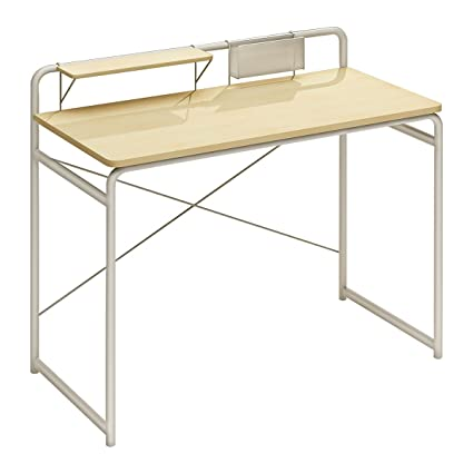 1208S Small Writing Desk Compact Home Office Desk Computer Desk For Small  Space, Burly