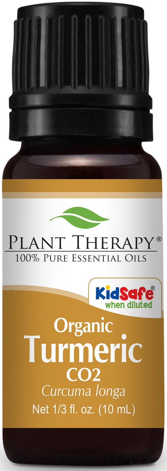 Plant Therapy USDA Certified Organic Turmeric CO2 Essential Oil. 10 ml (1/3 oz). 100% Pure, Undiluted, Therapeutic Grade. (Pack of 12)