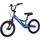 Strider - Youth 16 Sport No-Pedal Balance Bike, Ages 6 to 10 Years