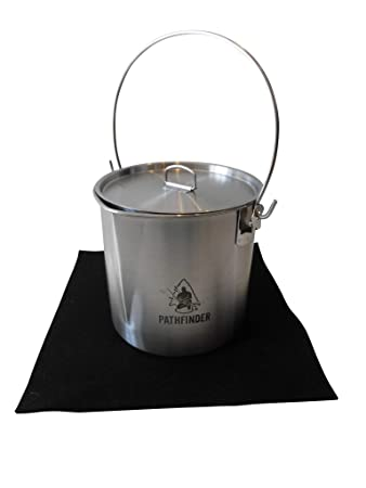 Pathfinder--Stainless Bush Pot