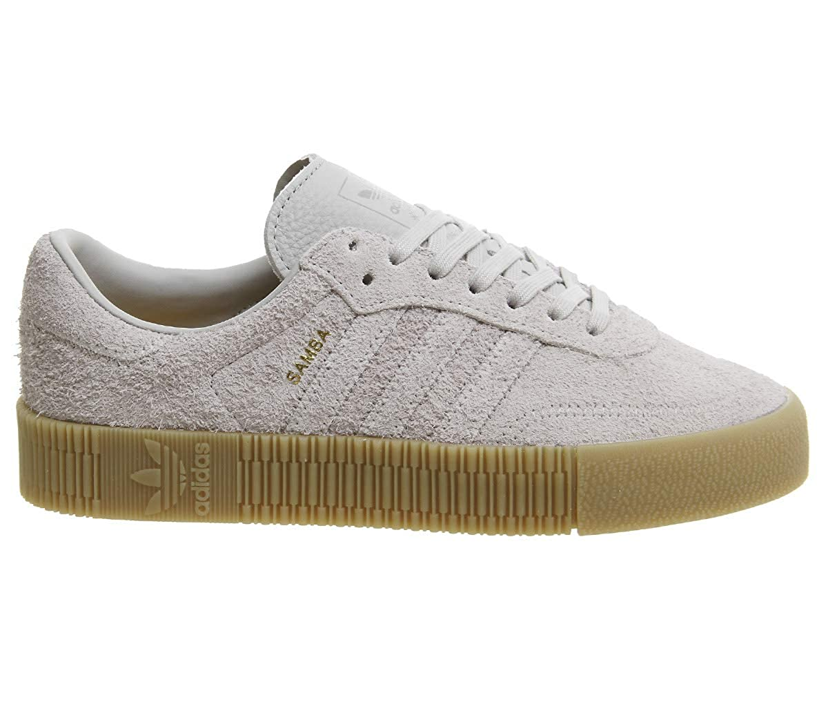 size 40 e7293 239e3 Amazon.com   adidas Originals Women s Sambarose Low Top Sneakers Grey in  Size US 7.5   Fashion Sneakers
