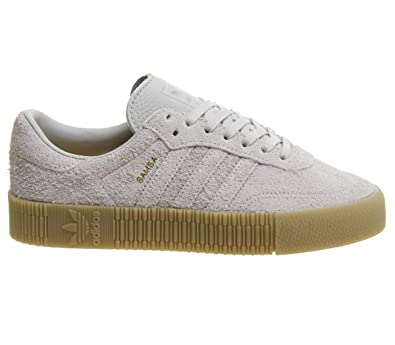 b4401cddeaa adidas Originals Women's Sambarose Low Top Sneakers Grey in Size US 7.5