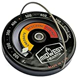 Midwest Hearth Wood Stove Thermometer - Magnetic