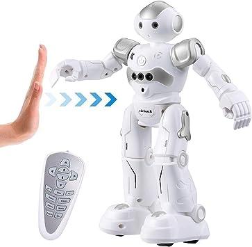 Virhuck R2 Robot Telecomandato per Bambini, Programmazione