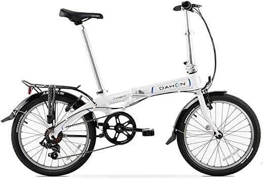 Dahon Vybe D7 Bicicleta Plegable Mixta, Color Obsidian Blanc ...