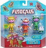 Floogals - Captain Fleeker, First Officer Flo and Junior Boomer - Figure and Tool Set